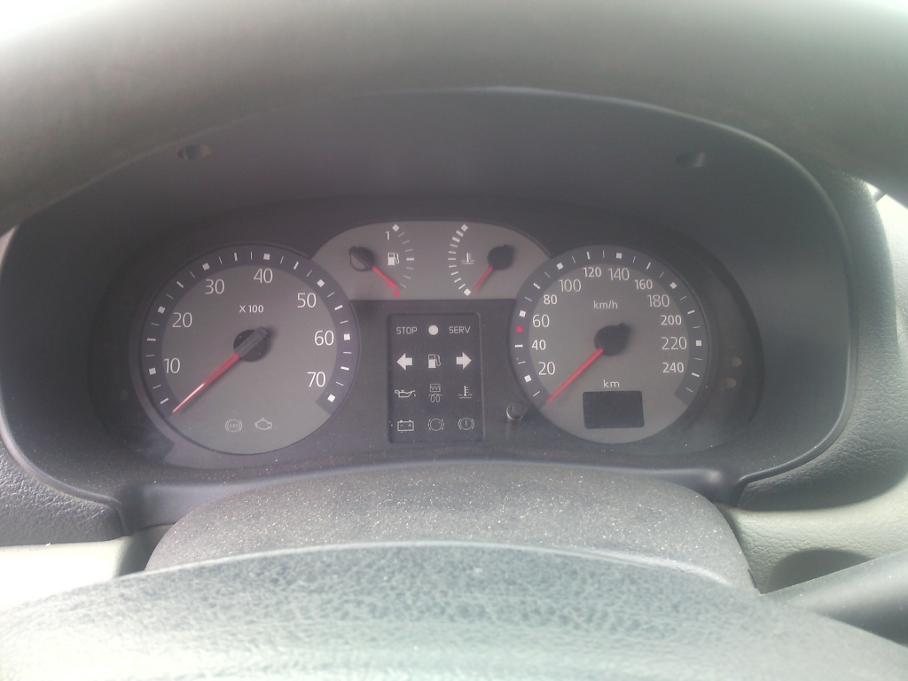 vastă selecție marimea 7 frumuseţe Ceasuri bord Renault Clio Symbol 1.5 dci 2006 - #978867813 ...