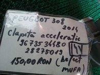 Clapeta acceleratie 9673534480 / 28275019 (defect mufa) Peugeot 308 1.6HDI