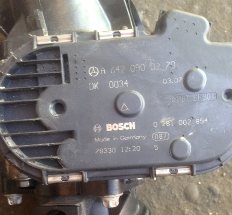 Clapeta acceleratie Mercedes ml 320 CDI w164