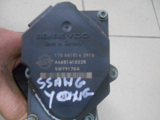 Clapeta de acceleratie pentru Ssangyong Kyron 2.0 XDI