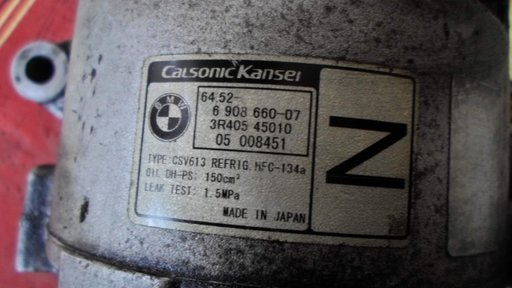 Compresor ac clima bmw z4 , e46 coupe cod 6908660-