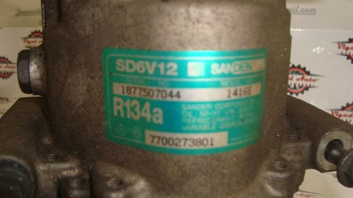 Compresor ac Renault Clio 1.4 Sanden cod 7700273801