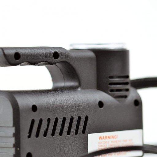 Compresor Auto Umflat Roti 18 Bari, Alimentare la mufa auto 12V, Model Slim cu Maner si Comutator
