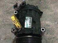 Compresor clima ac aer conditionat Peugeot 407 1.6 HDI 9HZ