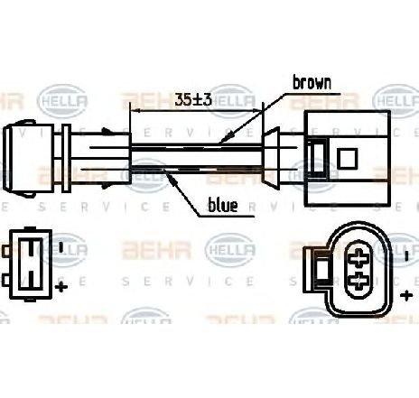 Compresor, climatizare VW CADDY II combi (9K9B) 1.4 16V 08/2000 - 01/2004 - producator HELLA cod produs 8FK 351 125-751