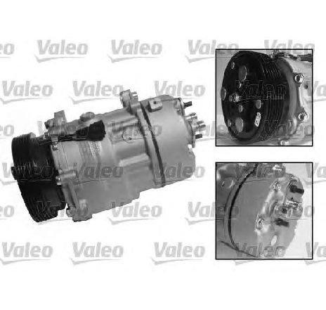 Compresor, climatizare VW CADDY II COMBI ( 9K9B ) 11/1995 - 01/2004 - producator VALEO 813200 - 305393 - Piesa Noua