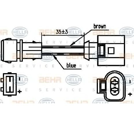 Compresor, climatizare VW GOLF IV (1J1) VW GOLF Mk IV (1J1) 1.9 TDI 10/1997 - 05/2004 - producator HELLA cod produs 8FK 351 125-751