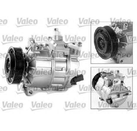 Compresor, climatizare VW GOLF V ( 1K1 ) 10/2003 - 02/2009 - producator VALEO 699357 - 304991 - Piesa Noua