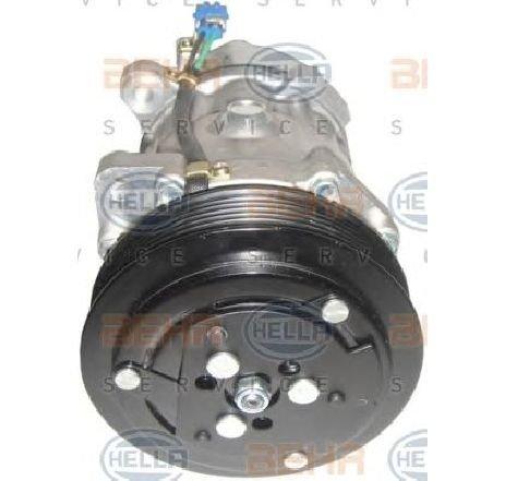 Compresor, climatizare VW TRANSPORTER IV platou / sasiu (70XD) VW TRANSPORTER T4 platou / sasiu (70XD) 2.5 08/1996 - 04/2003 - producator HELLA cod produs 8FK 351 127-681