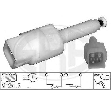 Comutator lumini frana AUDI A6 ( 4B2, C5 ) 01/1997 - 01/2005 - producator ERA 330328 - 301891 - Piesa Noua