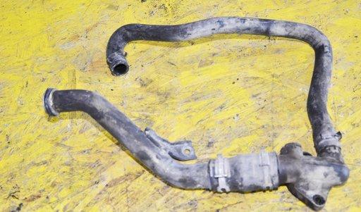 Conducta metalica + furtun apa Peugeot 607 2.2 HDI 133CAI