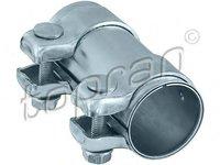 Conector teava, sistem de esapament AUDI 90 (8C, B4), AUDI 80 Avant (8C, B4), AUDI 500 (44, 44Q, C3) - TOPRAN 102 754