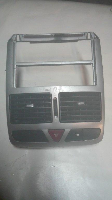 Consola centrala cu buton avarii Peugeot 307