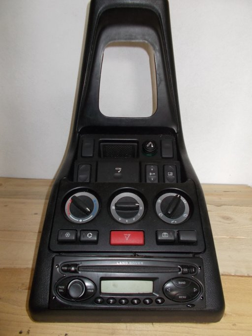 Consola clima bord Land Rover Freelander dezmembrari neagra