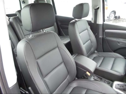 Cotiera din piele si consola VW Sharan 2019