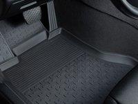 Covoare / Covorase / Presuri cauciuc stil tip tavita VW Golf VI 2008-2012 (5 bucati) (82293) - SEINTEX