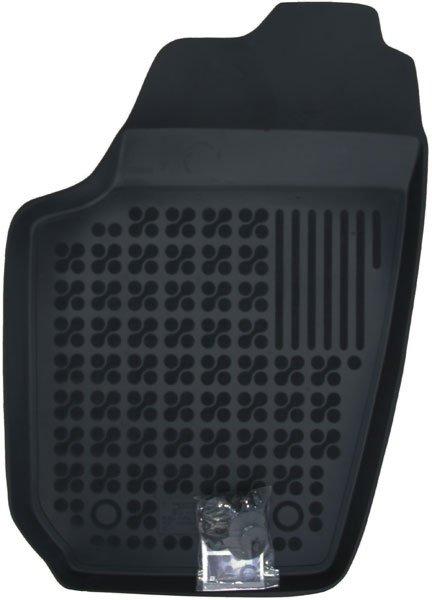 Covoare interior cauciuc - negru - mb95 - SKODA FABIA I