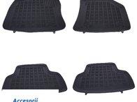 Covorase Presuri Auto Negru din Cauciuc AUDI A3 S3 Sportback 2012+ VOLKSWAGEN Golf 7 VII 2012+