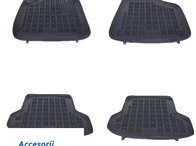 Covorase Presuri Auto Negru din Cauciuc AUDI A3 S3 Sportback 2003-2012