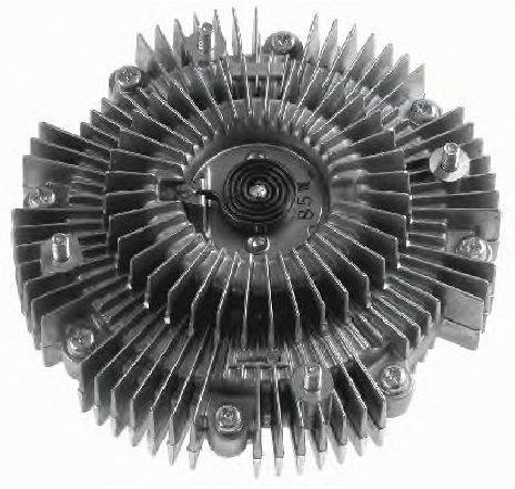 Cupla, ventilator radiator TOYOTA HILUX II PICK-UP