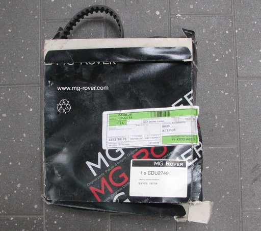 Curea distributie original Rover 200 25 400 45 Metro MG ZR CDU2749