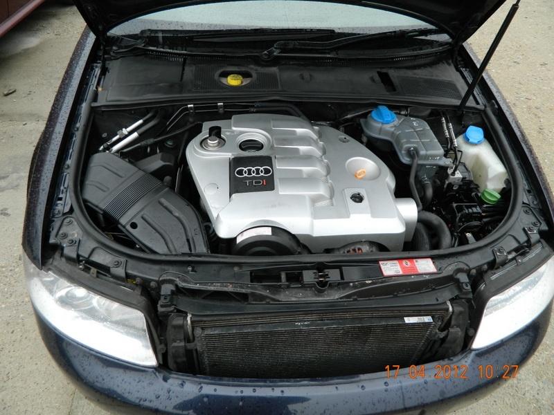 Cutie de viteza Audi A4 model masina 2001 - 2005