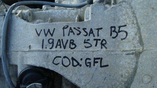 Cutie de Viteze 5 trepte VW Passat B5 motor 1.9 tdi cod AVB cod cutie GFL