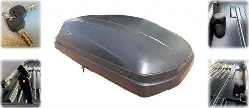 Cutie portbagaj ECO 330L 140x80x45 cm