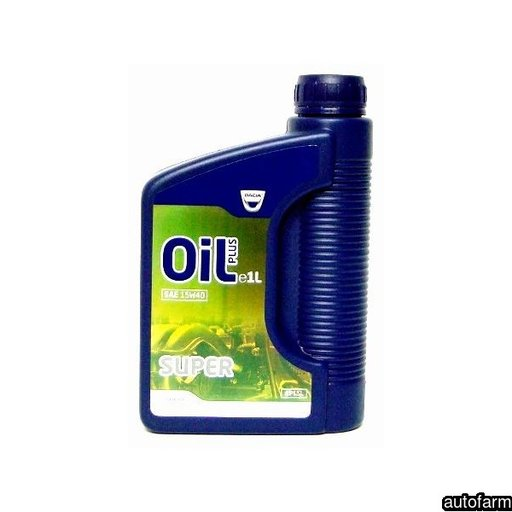 DACIA OIL PLUS SUPER 15W40 1L RENAULT 6001999713 <br>