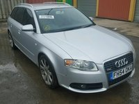 Dezmembram Audi A4 B7 Avant model S-line motor 2.0 140CP cod BLB