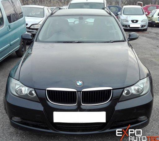Dezmembram BMW 320 E91/E90 TOURING, An 2006, 2.0 Diesel, 1995 cm3, Manual, 120 KW, Cod motor 204D4, Euro 4.