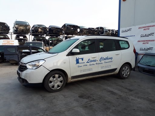 Dezmembram Dacia Lodgy 2013 1.5 DCI K9K 612 C6 66kw E5
