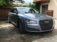 Dezmembrari Audi A8 4H D4 2010-2016 3.0 diesel, quattro, 211hp 155kw, 4x4, interior piele gri