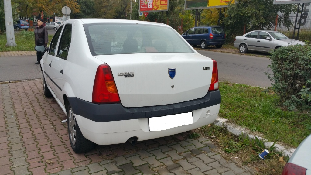 Dezmembrari logan alb 1,5dci, 2005-2006, euro 3