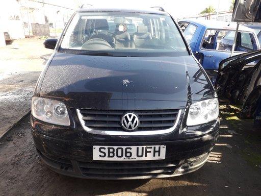 Dezmembrari VW Touran, 2005, 1.9tdi /105cp tip BXE, culoare negru LC9X, cutie (6+1) tip GQN 7 locuri
