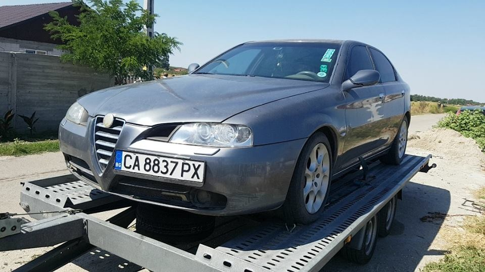 Dezmembrez Alfa Romeo 166 2004 Berlina 24 2061699106 Pieseauto