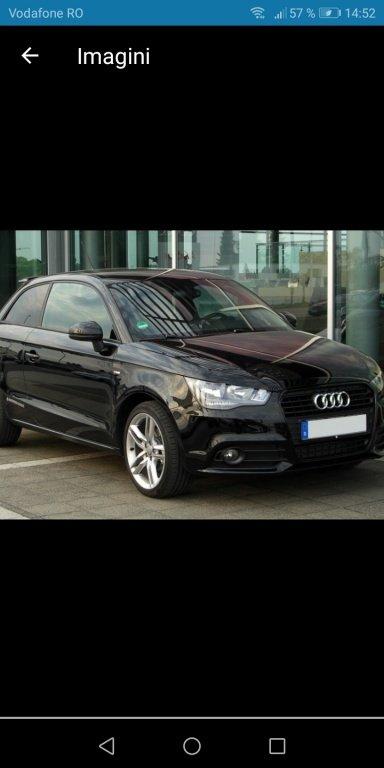 Dezmembrez Audi A1 an 2010