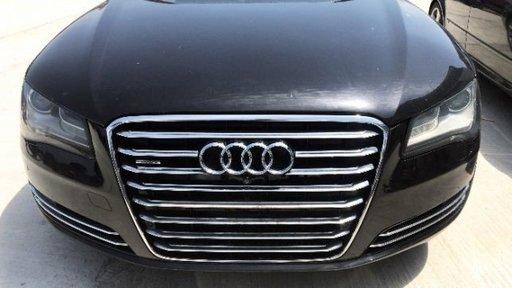 Dezmembrez Audi A8 L D4 4H din 2012 3.0 TDI CDTA 250 cai Negru