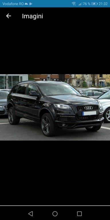 Dezmembrez Audi Q7 2012 Full led euro 5
