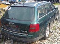 Dezmembrez autoturism marca Audi A6, an fabricatie 2000, motor 2.5 D, culoare Verde, 4 usi.