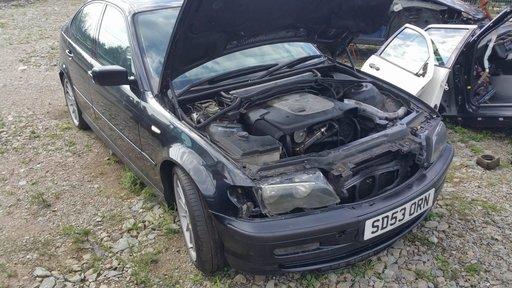 Dezmembrez autoturism marca BMW 320D Sport, an fabricatie 2003, motor 2.0 D, culoare Negru, 4 usi.