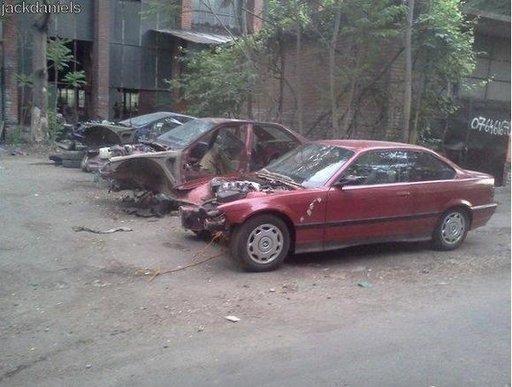 Dezmembrez BMW e36 316i m43 1994 sedan coupe