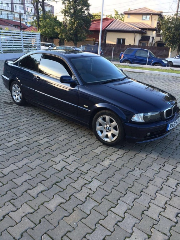 Dezmembrez BMW e46 Coupe an 2002 318 CI motor 1995 valvetronic