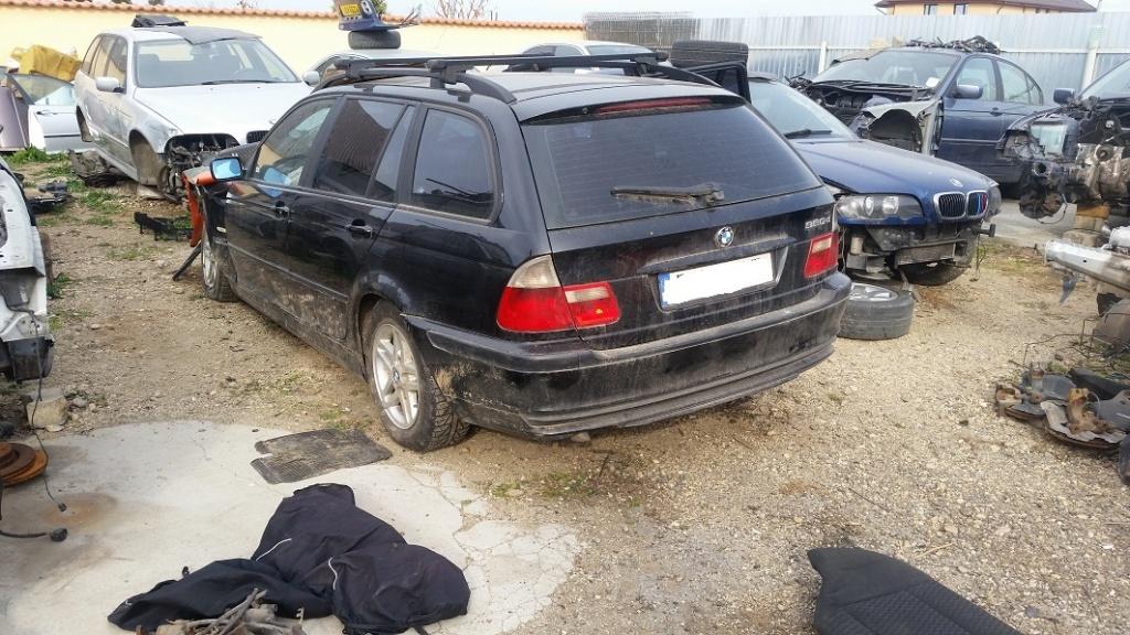 Dezmembrez bmw e46 touring,motor 320d 136cp,automat,an 2000,PARC DEZMEMBRARI BMW