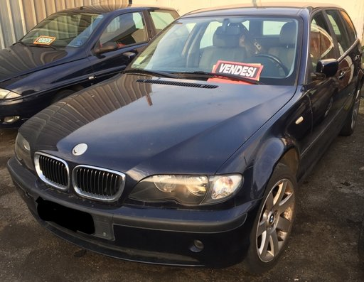 Dezmembrez BMW Seria 3 E46 320 D 136 CP 2001