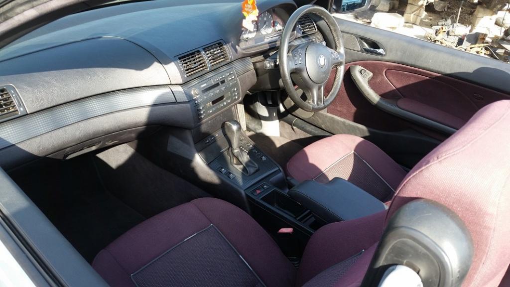 Dezmembrez bmw seria 3 e46 cabrio,motor 318i,143 cp,valvetronic