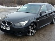 Dezmembrez BMW seria 5, E60 530d, automat 6tr, an 2004, interior piele