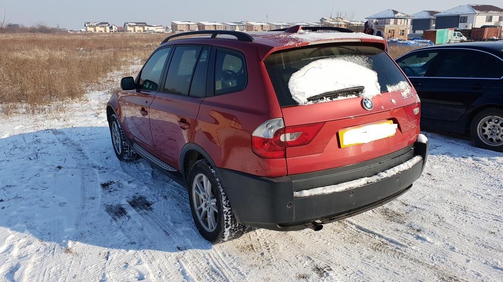 Dezmembrez bmw x3,e83,motor 2.od,150 cp,an 2006,navigatie,piele neagra,senzori,PARC DEZMEMBRARI BMW