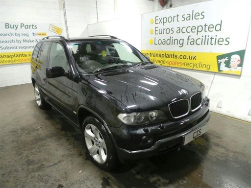 Dezmembrez BMW X5 3.0D E53 motor 306D2 M57N cutie GA6HP26Z