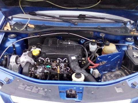 Dezmembrez Dacia Logan an 2005 motorizare 1.5 DCI